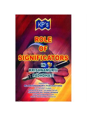 Role of Significators